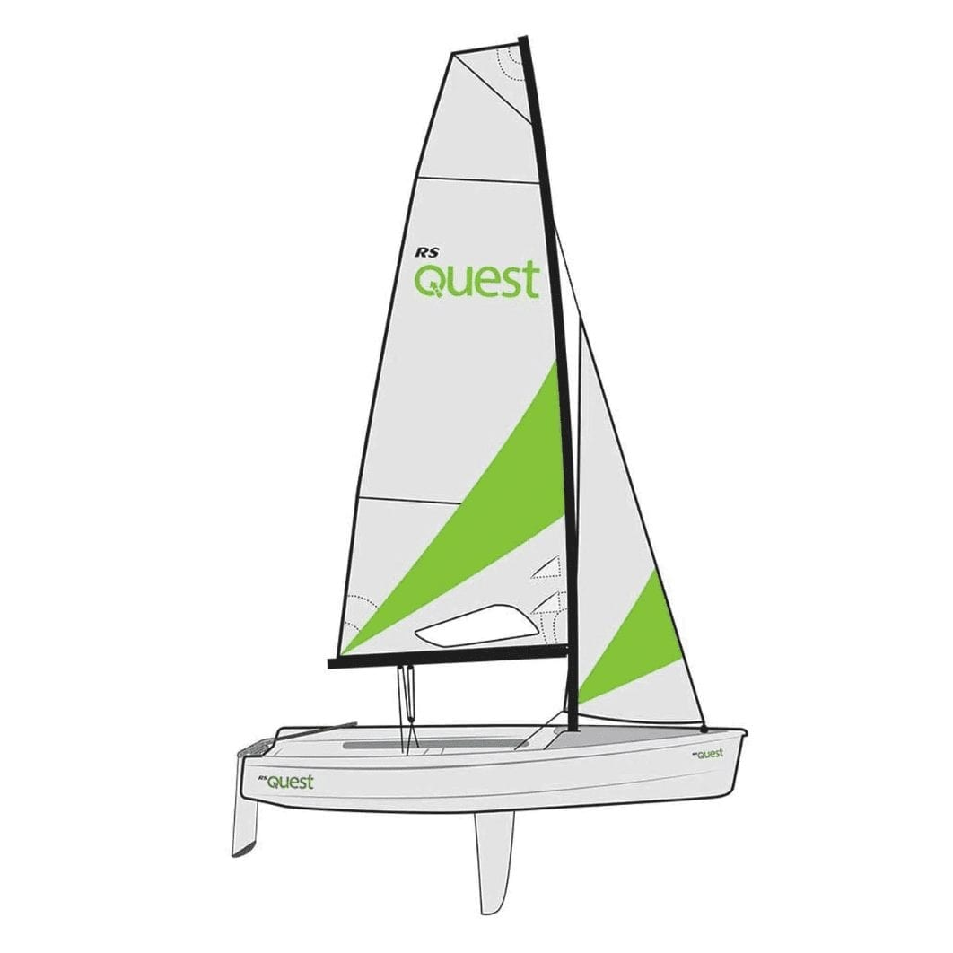 RS Quest racing class dinghy