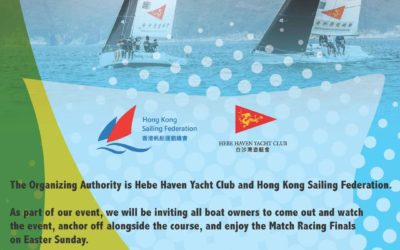 Hong Kong National Match Racing Championships will return at Easter