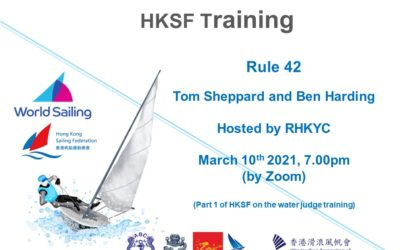 HKSF will hold Rule 42 Training Webinar with RHKYC